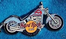 MYRTLE BEACH SKY SKY BLUE MOTOR CYCLE BIKE KEY CHAIN Hard Rock Cafe not a pin