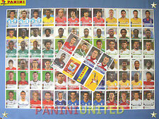 Panini★WM 2010 WC 10 World Cup★alle 80 Extra/update-Sticker - RARITÄT !!!