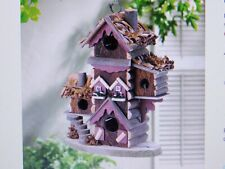 Rustic Gingerbread Style Birdhouse
