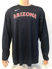 NEW Arizona Wildcats Nike Basketball Shooter L/S Shirt Size Large L Team Issued