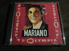 "CD ""LUIS MARIANO A L'OLYMPIA 58 (1958)"" 11 titres"