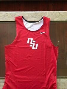 Red Nike NSU Tank Top, Large