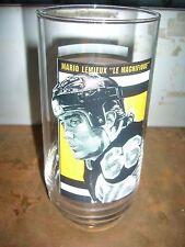 1998 EAT N PARK MARIO LEMIEUX PITTSBURGH PENGUINS  DRINKING GLASS  PORTRAIT