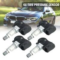 4x TPMS Capteur Pression Pneu Pour BMW Mini 1 2 3 4 Série i3 i8 X1 X2 X5 6855539