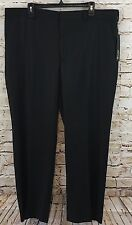 Apt 9 pants Mens 40 X 30 black Modern Fit Straight Leg New B2