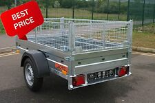 NEW Car trailer caged cage mesh 6,69ft x 3,61ft 750kg BORO