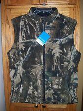 2d31811c80f7e Columbia Sportswear Men's Lock N' Load Timberwolf Camo Vest M L