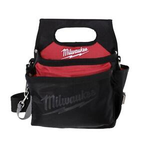 Milwaukee 15 Pocket Electricians Work Pouch Bag / Holster with Quick Adjust Belt