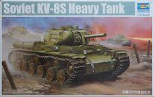 Trumpeter 1/35 Soviet Kv-8S Heavy Tank Kit #01572