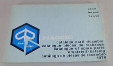 Teilekatalog / Spare Parts List Piaggio Mofa Ciao / Boxer / Bravo Stand 1976