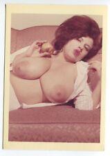 Sherry Lynn Chunky Buxom  Nude Star  1950 Original Vintage Color Photo   B7237
