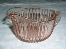 Anchor Hocking QUEEN MARY Pattern Pink Creamer