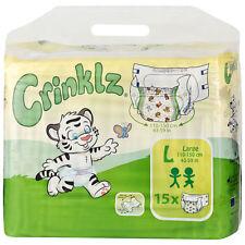 Crinklz Windeln mit lustigem Motiv - Large - Karton