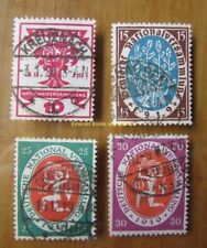 EBS Germany 1919 National Assembly Weimar Michel 107-110 Used a