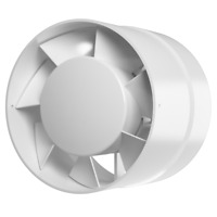 12V AC 100mm Inline Extractor Fan with Ball Bearing Duct Ventilator Exhaust Vent