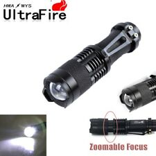 Ultrafire Flashlight Zoomable Tactical 20000 Lumens LED Torch Lamp XML T6 14500