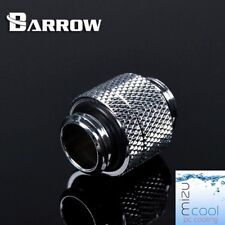 """Barrow G1/4"""" Silver Rotary 15mm Anti-Twist Extender Male To Male - 157"""