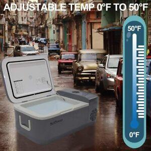 14QT Portable Car Freezer Fridge Camping Travel Mini Refrigeror Electric Cooler