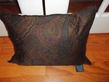 New Ralph Lauren Frazier Paisley Oblong Decorative Pillow 15x20