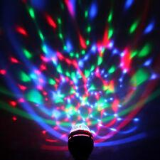 3W E27 LED Disco Licht DJ Kugel RGB Bühne Light Show Laser Projektor Beleuchtung