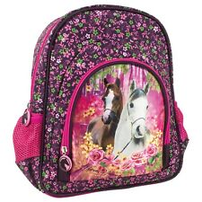 CHEVAL SAC A DOS CARTABLE JUNIOR ECOLE MATERNELLE LOISIRS SPORT CHEVAUX PONEY