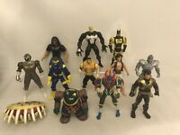 Vintage 90s Action Figure Bundle Toys Job Lot Toy He-man Marvel Batman Dc