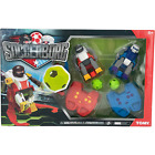 TOMY Soccerborg Game / Soccer Playing Robots / 2 Remote Control Robots