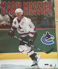 Mark Messier Vancouver Canucks 16x20 Starline Poster