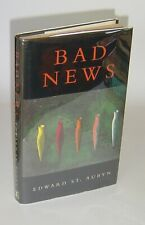 Edward St Aubyn - BAD NEWS - Patrick Melrose UK 1st 1992 SIGNED