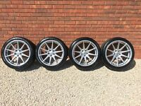 """19"""" JUDD T311R ALLOY WHEELS & TYRES STAGGERED CONCAVE MERCEDES AMG E-KLASSE"""
