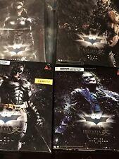 Play Arts Kai The Dark Knight Set Batman,Bane,The Joker, and Catwoman