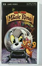 Tom and Jerry the Magic Ring Japan UMD Video PSP Region 2 2001 NFPA-H3592