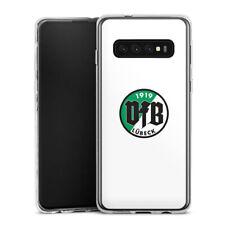 Samsung Galaxy S10 Silikon Hülle Case - VfB Lübeck Weiss #2
