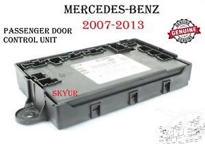 07-13 Mercedes-Benz Right Front Door Control Unit S350 S400 S550 S63 S65 GENUINE