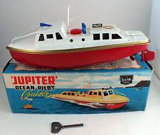 Sutcliffe bateau Jupiter Clockwork Cruiser canot hors-bord moteur à clé 24 cm