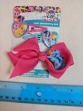 My Little Pony the Movie Hair Accessory Set w/ Bow, 2 Clips by HER Accessories
