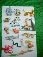 FUNNY ANIMALS RARE AND OTHERS PLASTIC LOT