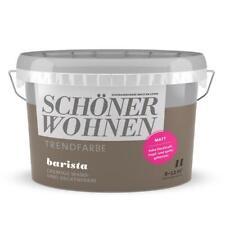 Schöner Wohnen Trendfarbe Barista cremige Wandfarbe Deckenfarbe Innen Matt 1l