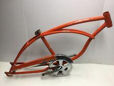1970 Schwinn Stingray Orange Krate Single Speed Frame Crankset Chainguard