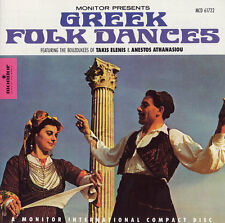 Greek Folk Dances (1990, CD NIEUW) Elenis/Athanasiou