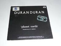 "7"" Duran Duran - Planet Earth/Union of the snake (from ""Arena"" LP SPANISH PROMO)"