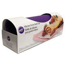 "Wilton Silicone Swiss Roll Yule Log Fudge Candy Baking Mat Pan 9 "" x 13 """