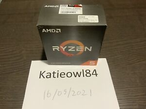 AMD Ryzen 5 5600X 3.7GHz 5000 Series Processor! Everything In Box Included!
