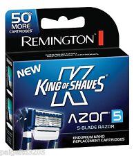 Remington King of Shaves Azor Men's 5-Blade Razor Replacement Cartridges 18ct