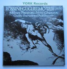 D219D 4 - ROSSINI - Guglielmo Tell MILNES / PAVAROTTI - Ex 4 LP Record Box Set