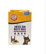 Arm & Hammer Swivel Bin Waste Bags, 20 Count, 1 Pack