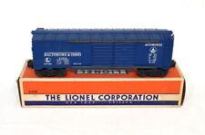 Postwar Lionel 6468 Baltimore & Ohio Automobile Boxcar~All Original~w/Nice OB