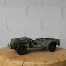 Vintage Tootsietoy 1950's Willys Army Jeep Green