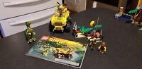 LEGO Dino Raptor Chase (5884) Dinosaur Jeep tranq gun