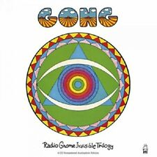 GONG - THE RADIO GNOME INVISIBLE TRILOGY ( 4 CD NEU